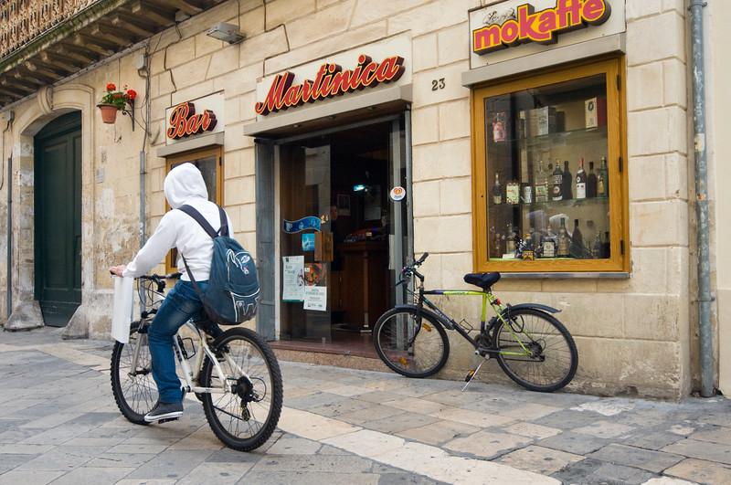Corso Vittorio Emanuele II, Lecce, Puglia, Italy