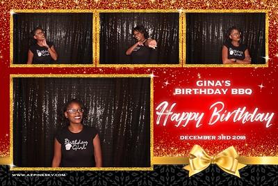 Gina's Birthday