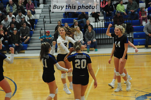 BBE volleyball v. ACGC - 5A - 10-25