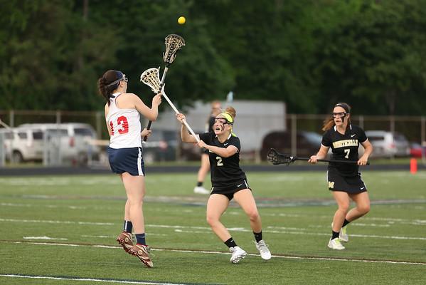 Monticello girls lacrosse beats Albemarle 2015