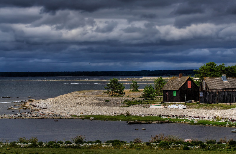 Thunder approaching Gotland