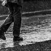A rare rainy day
