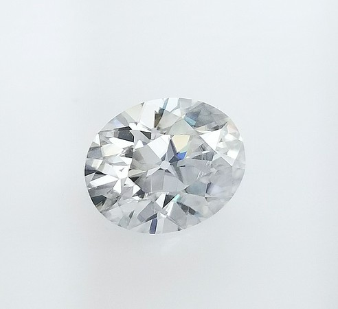 Loose 10 x 8mm Antique Oval Cut Moissanite