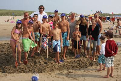 Vechten tegen de zee 2010