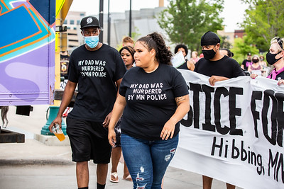 March For Lionel Lewis, Minneapolis, August 26