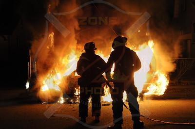 Roosevelt F.D. Car Fire 61 William St. 2/26/13