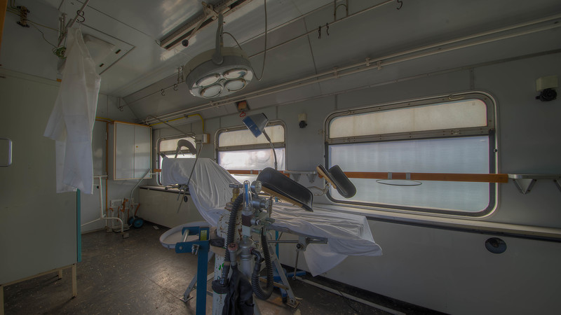 Urbex -  Medical Train