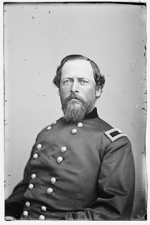 . Gen. Samuel K. Zook. Killed Gettysburg, July 3, 1863  - Library of Congress Prints and Photographs Division Washington, D.C.