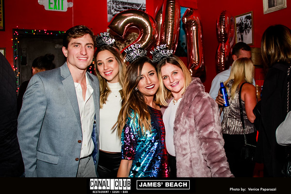 12.31.17 . NYE at James' Beach and the Canal Club