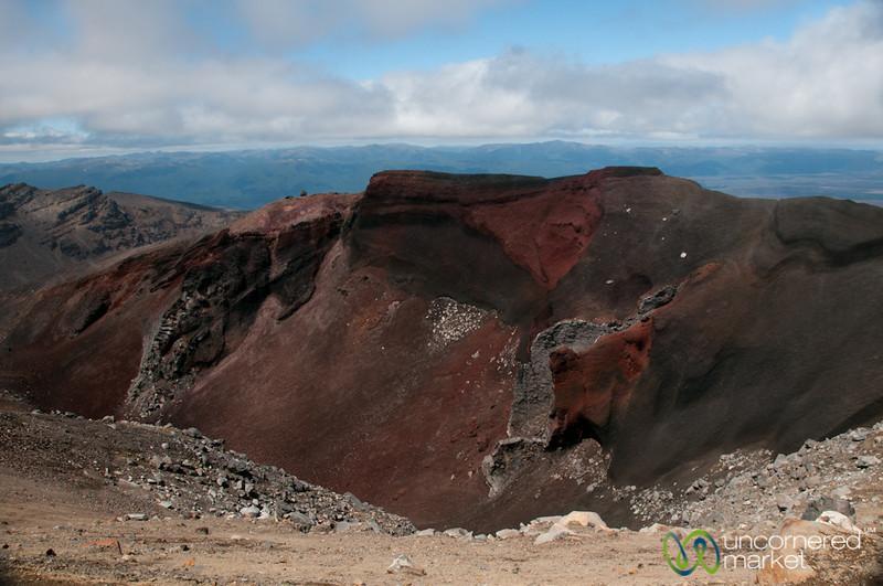 Red Crater at Tongariro National Park - New Zealand