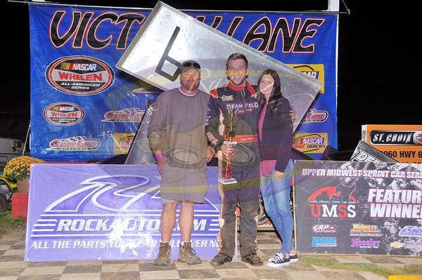Cedar Lake Speedway - Jerry Richert Memorial - Sept 10, 2016