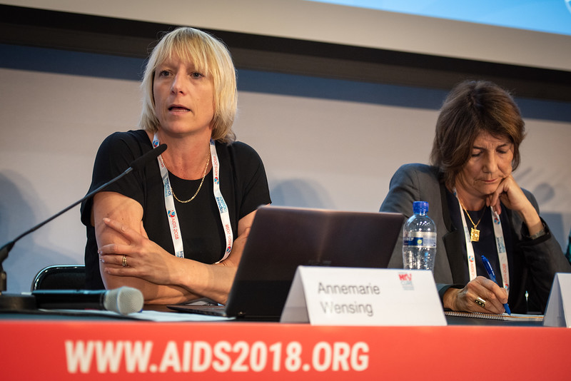 22nd International AIDS Conference (AIDS 2018) Amsterdam, Netherlands.   Copyright: Steve Forrest/Workers' Photos/ IAS  Photo shows: HIV Cure Research with the Community Workshop: