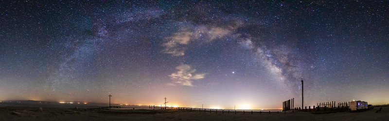 Social Distancing Under the Milky Way at the Salton Sea