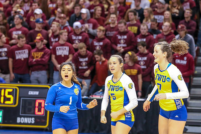 JWU Volleyball vs. Calvin