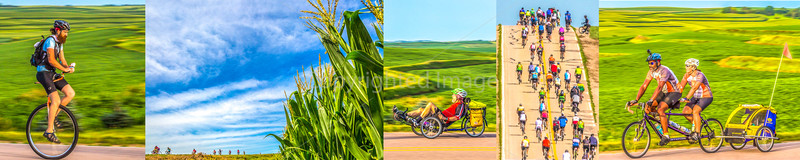 "RAGBRAI  --  See ""Cross-State Bike Rides"" Section for MANY Galleries"