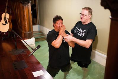Baptism April 2016