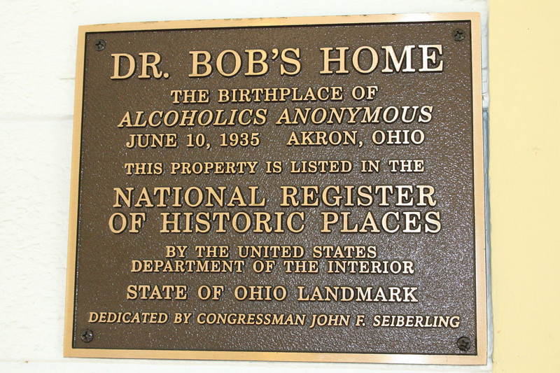 Dr. Bob's Home in Akron, Ohio