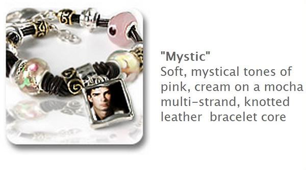 Beaded Bracelet - Mystic $35