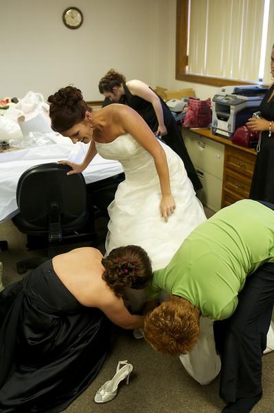 Bush Ayers Wedding 121810
