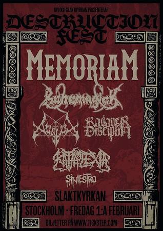 Destruction Fest  1/2 2019