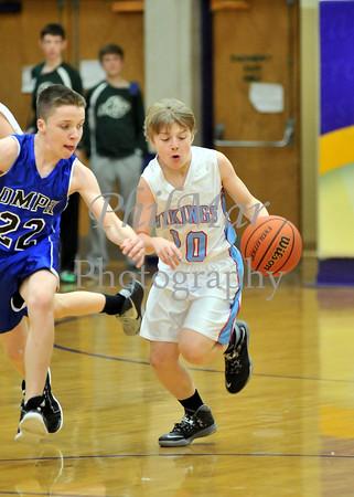 Sacred Heart vs OMPH Boys CYO Basketball
