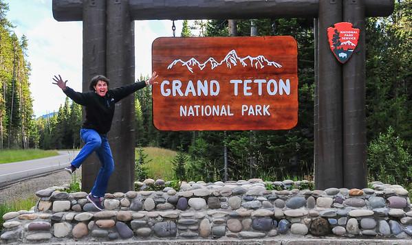 Yellowstone and Grand Teton August 2014