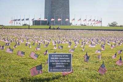 2020-09-22 Covid Flags @ Washington Monument