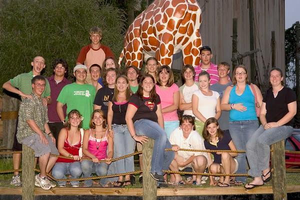 2005-08-05: Band Camp Day 5 (Senior Night Group Photos)