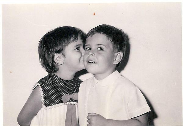 1967 - Jumané (Julio Laranjeira Sousa) e Zezinha