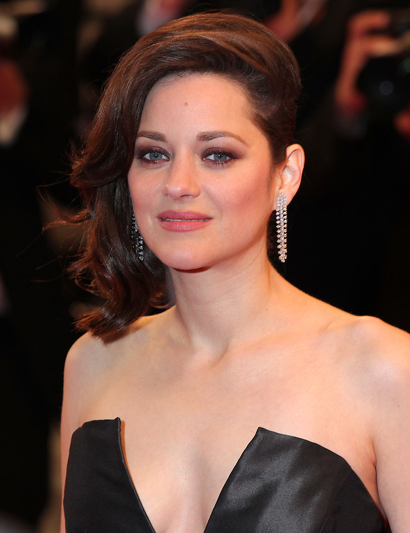 ". CANNES, FRANCE - MAY 19:  Marion Cotillard attends the ""It\'s Only The End Of The World (Juste La Fin Du Monde)\"" Premiere during the 69th annual Cannes Film Festival at the Palais des Festivals on May 19, 2016 in Cannes, France.  (Photo by Alex B. Huckle/Getty Images)"