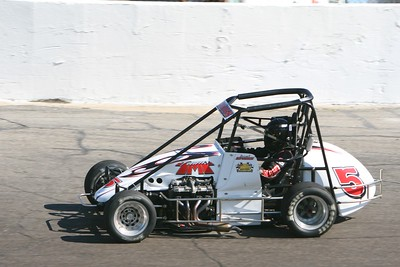 HOSS Sprints, Anderson Speedway, Anderson, IN, May 20, 2009
