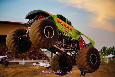 Soggy Bottom Boys Monster Truck Show 07/03/2017 Day 1