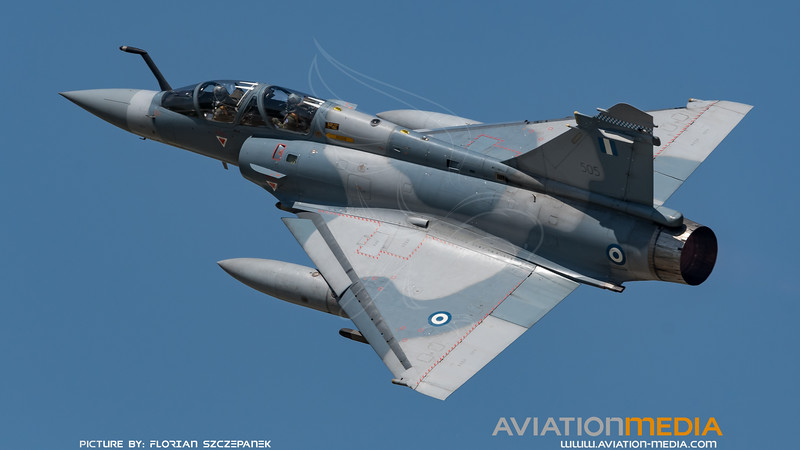 Hellenic Air Force 331 Mira / Dassault Mirage 2000-5 B Mk.2 / 505