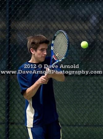 6/14/2012 - Boys Varsity Tennis - MIAA State D1 Championship - St. John's-Shrewsbury vs Needham