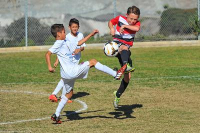 CSC Boys (U-10) vs Total Futbol Academy 11-22-2014