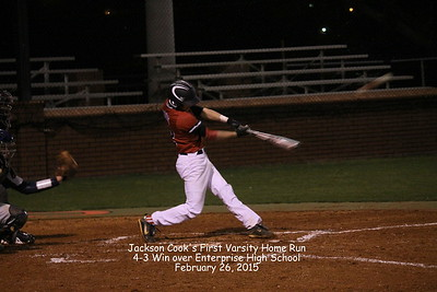 2015 Varsity Baseball CHS vs Enterprise