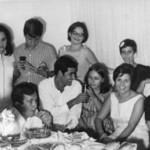 Dundo. 1968- Janeca, Zé João, Manuela Maldonado, Vandinha Teixeira, Luis Duarte,Hernani ?, Mina Ferraz, Manuela Teixeira, Toy Soares