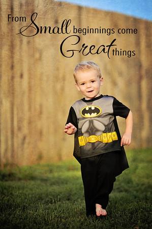 Batman, Superman and Boxing