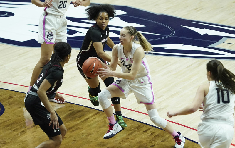 South Carolina UConn Basketball