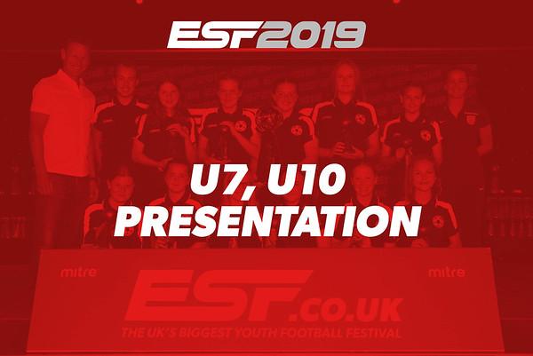 U7, U10 PRESENTATION