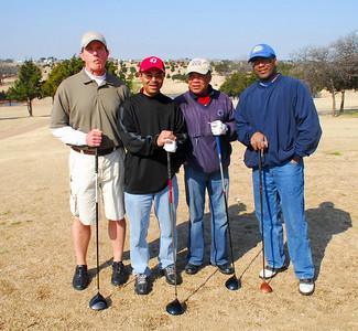 Golfing in Guthrie Sunday March 15, 2009
