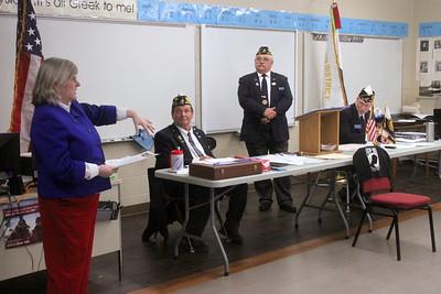 DHS Veterans Wall 4-25-19
