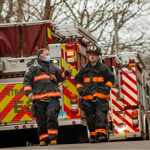 Reported Chimney Fire - North Peters Lane Stratford CT - 3/16/21