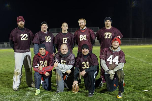 2015 PV Alumni Flag Football Game 11-25-15