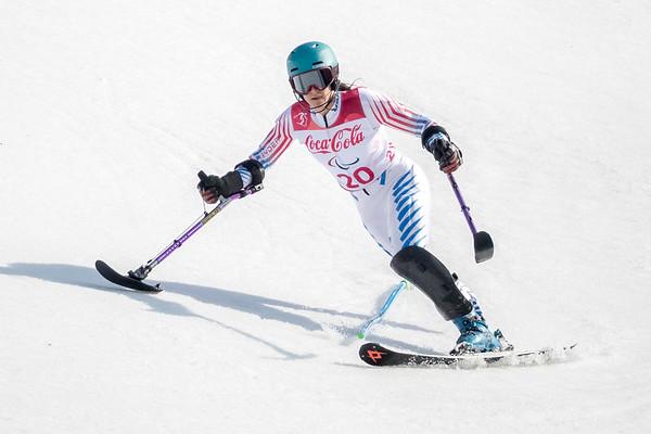 3-13-2018 Women's Super Combined - Slalom