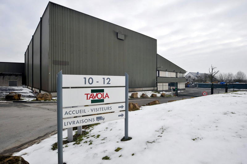 . A general view of the Tavola factory of French company Comigel in Capellen near Luxembourg February 16, 2013. After finding its beef lasagna contained horsemeat, the British unit of Findus began recalling the product from supermarket shelves last week on advice from its French supplier Comigel, raising questions over the complicated nature of the European food chain. Comigel said in a statement it paid market prices for what it thought was beef. It said it had alerted the authorities as soon as it became aware of a problem and had filed a legal complaint as a victim of fraud. REUTERS/Eric Vidal