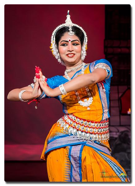Anusha's Odissi Rangapravesh 2017