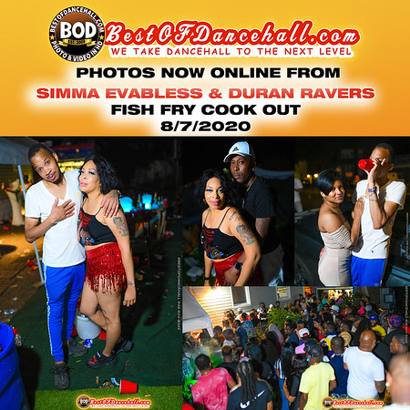 8-7-2020-BRONX-Simma Evabless And Duran Ravers Cook Out