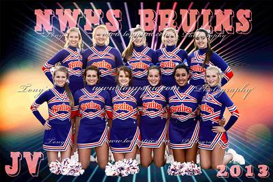 JV / Freshman Cheerleaders 2013
