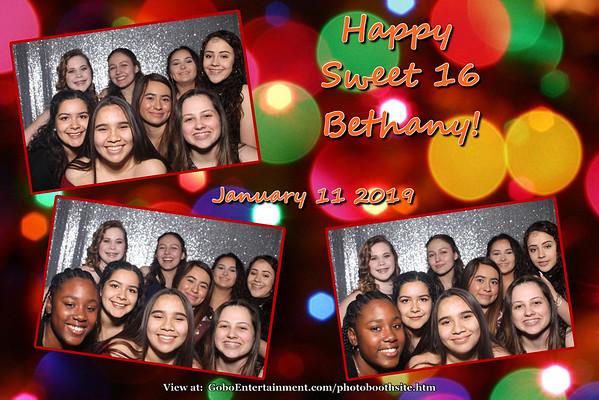 20190111 Bethany's Sweet 16
